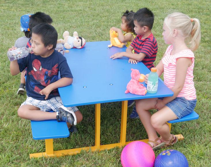 Preschool Picnic Table Infinity Playgrounds