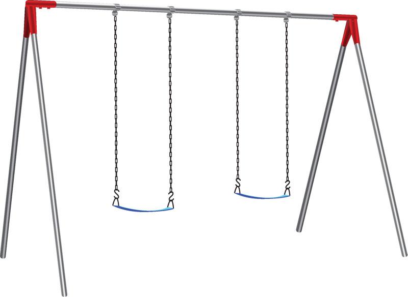 Single Bay Swing Set Infinity Playgrounds